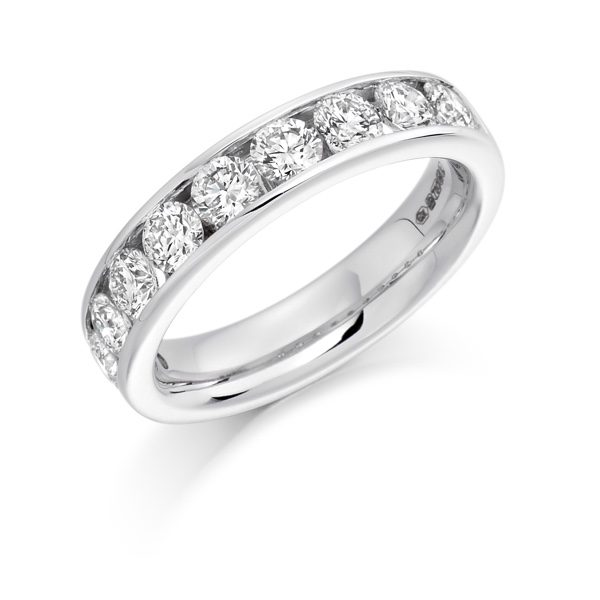 Ladies Diamond Set Rings