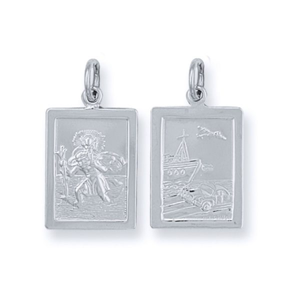 Sterling Silver Saint Christopher