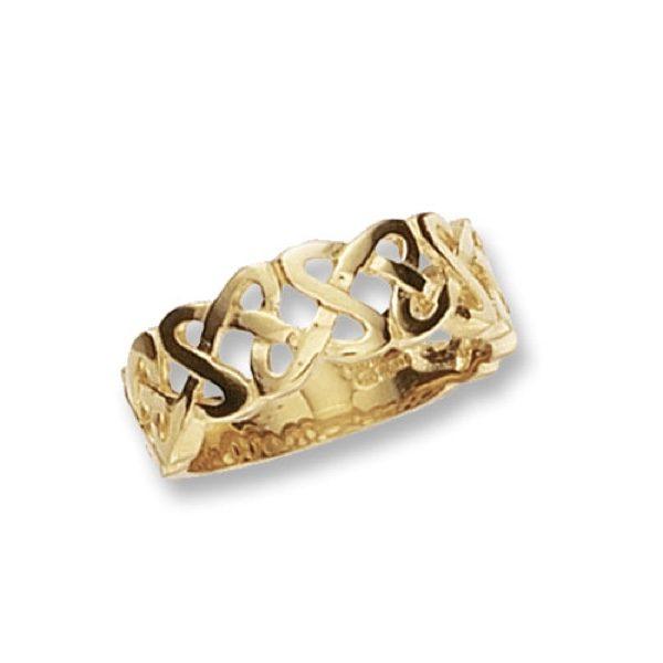 9 carat gold celtic ring