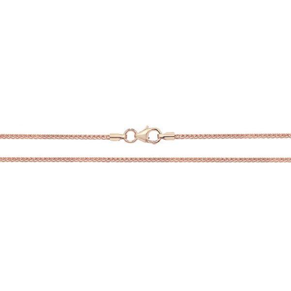 9 Carat Rose Gold Spiga Chain