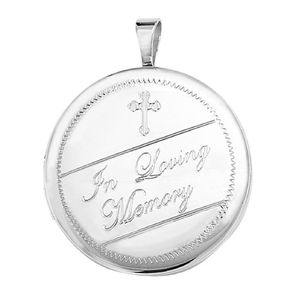 Sterling Silver Ashes Holder Pendant