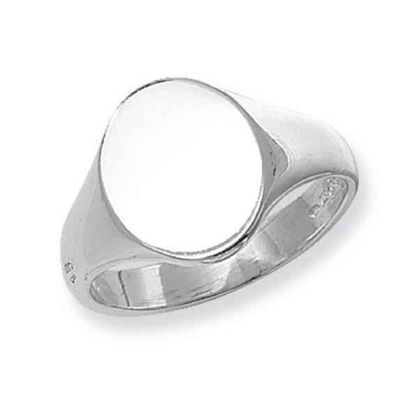 Men's Silver Signet Rings