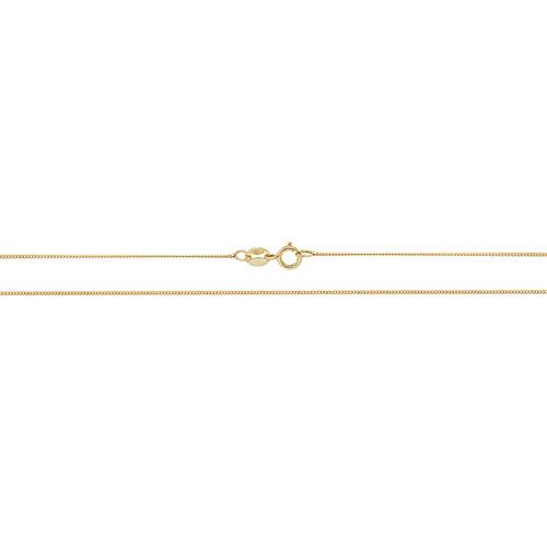 9 Carat Yellow Gold Close Curb Chain