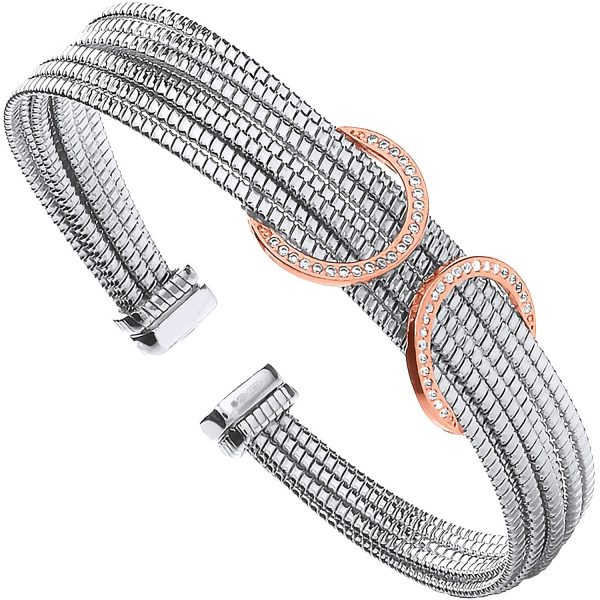 Ladies Sterling Silver Bangles