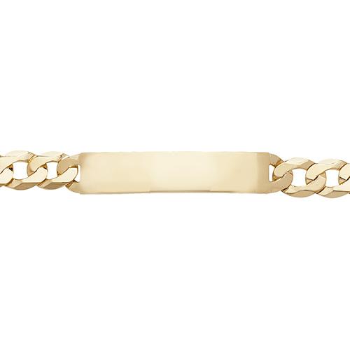 9ct Gold Identity Bracelet