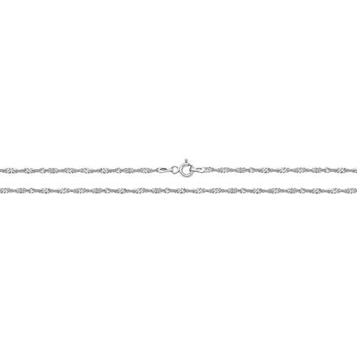 silver singapore chain
