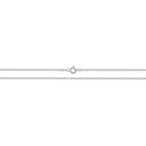 silver fine belcher chain