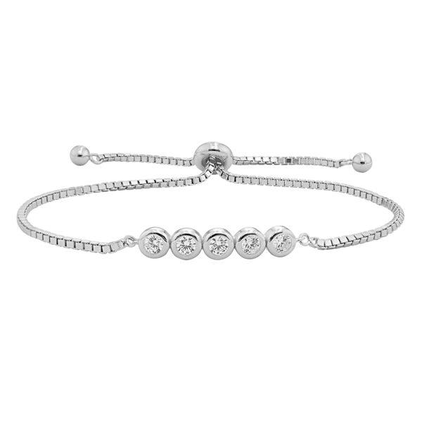 Ladies Sterling Silver Bracelets