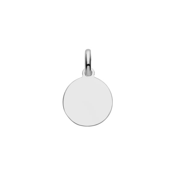 sterling silver small tag charm