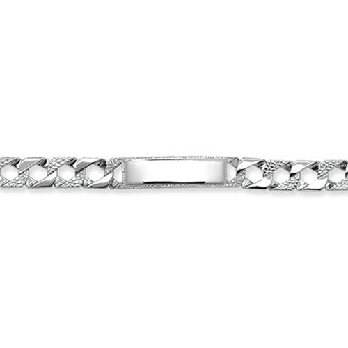 Sterling Silver Baby Identity Bracelet