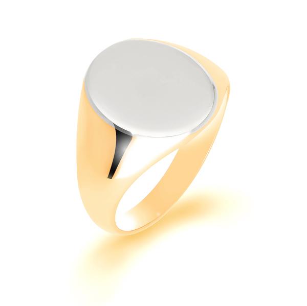 Men's Gold Signet Rings