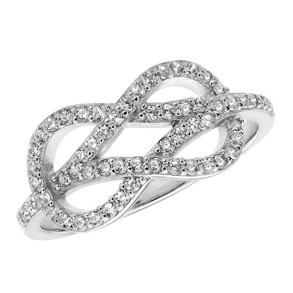 silver intricate ring