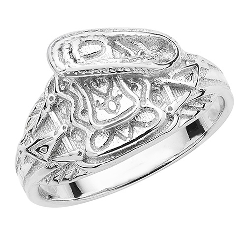 sterling silver baby kids saddle ring