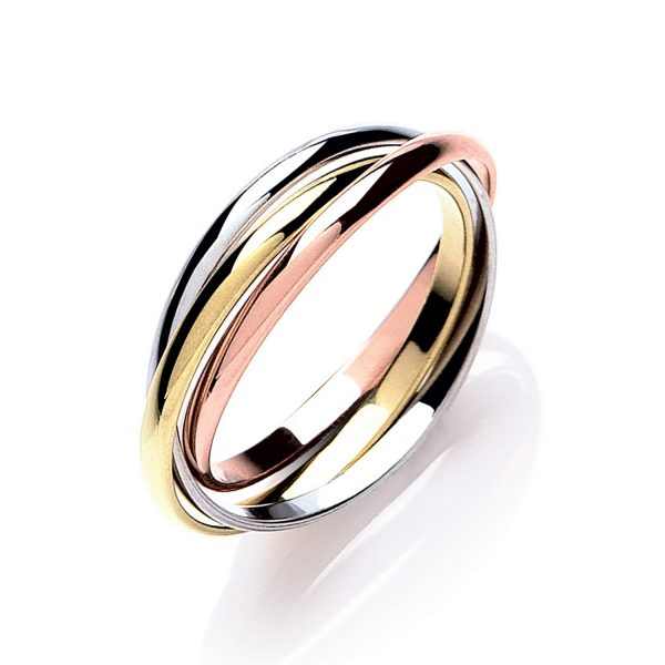 9ct Gold 2mm Russian Wedding Ring