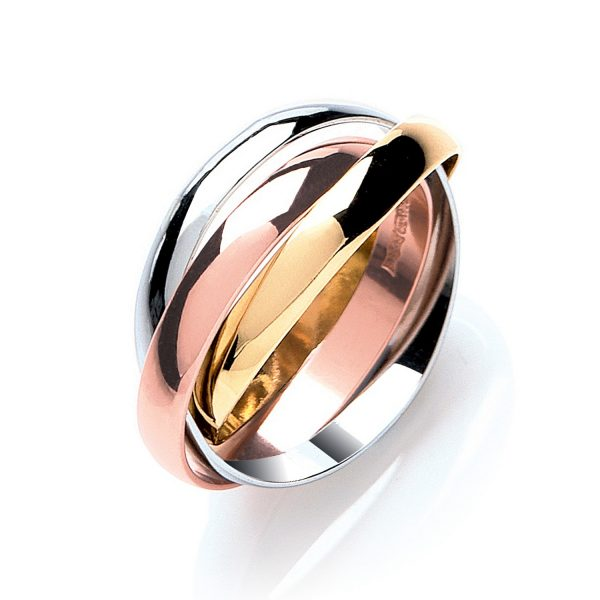 3mm Russian Wedding Ring 9ct Gold