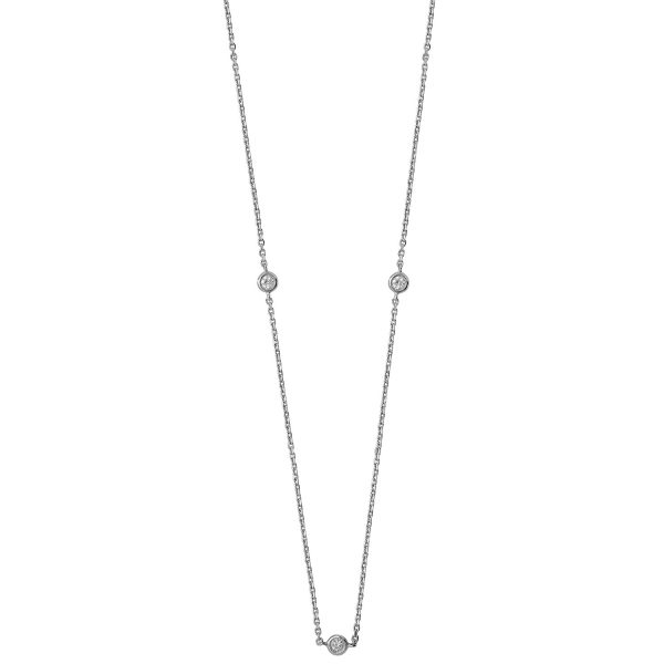 9 carat diamond necklet