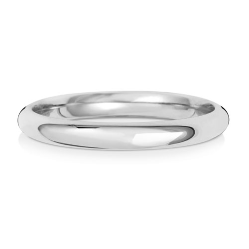 2mm Traditional Court Wedding Band