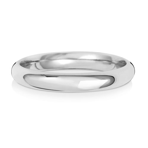 3mm Traditional Court Wedding Band