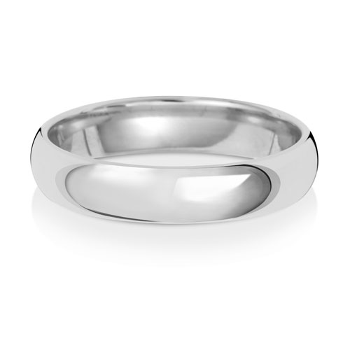 4mm Traditional Court Wedding Band
