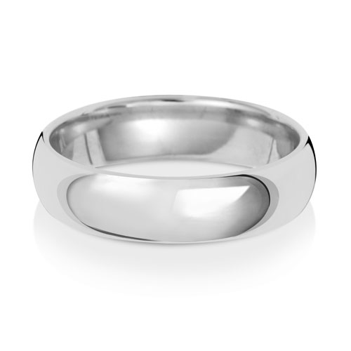 5mm Traditional Court Wedding Band