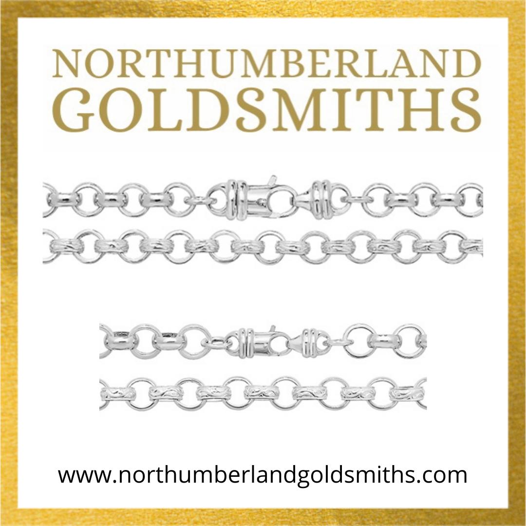 Sterling Silver Belcher Chains