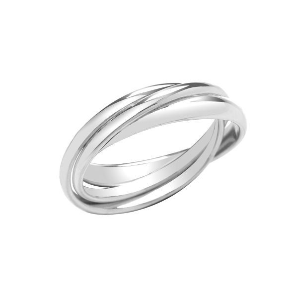sterling silver russian ring