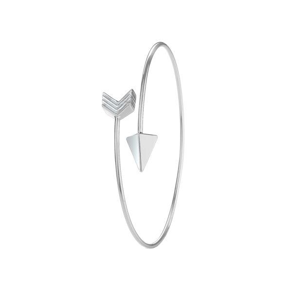 silver arrow bangle