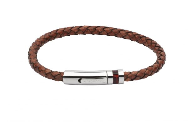 leather antique brown bracelet