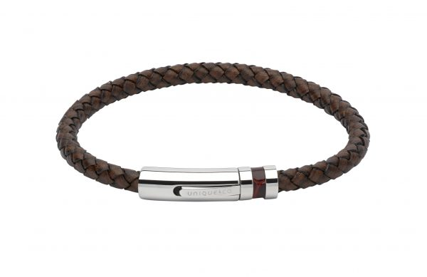 leather antique dark brown bracelet