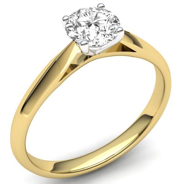 9 carat gold diamond solitaire
