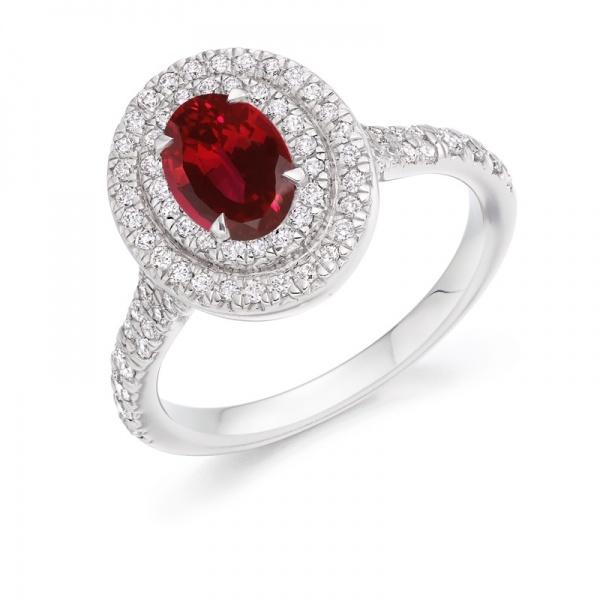 Diamond And Gemstone Dress Rings