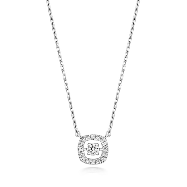 Diamond Pendant & Chain