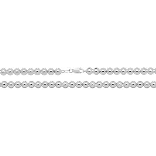 silver bead chain