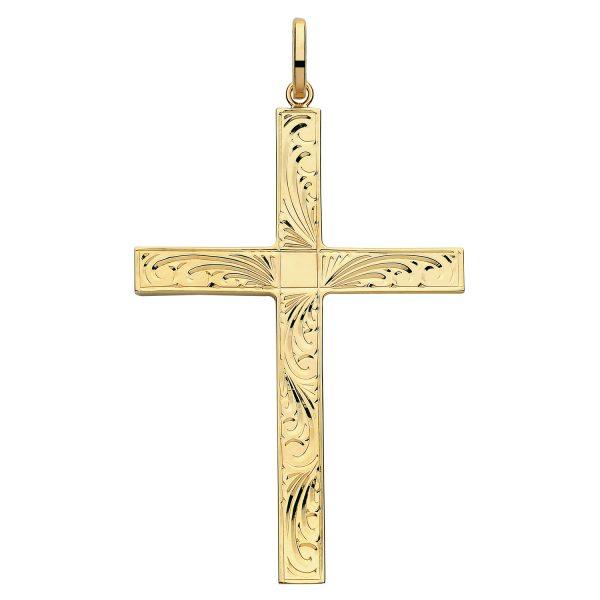 Gold Crosses & Crucifixes