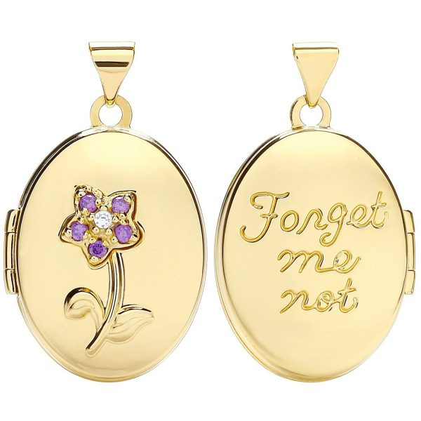 9 carat yellow gold locket