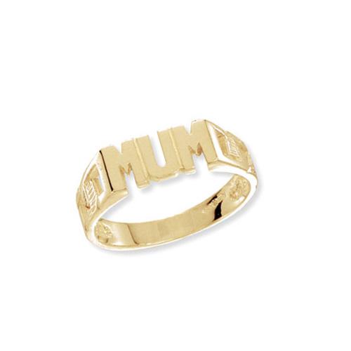 9 carat gold mum ring
