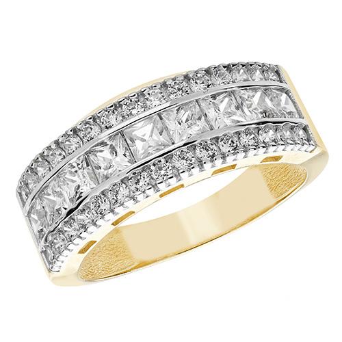 Gold Stone Set Rings