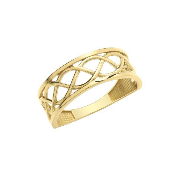9 Carat Gold Celtic Band